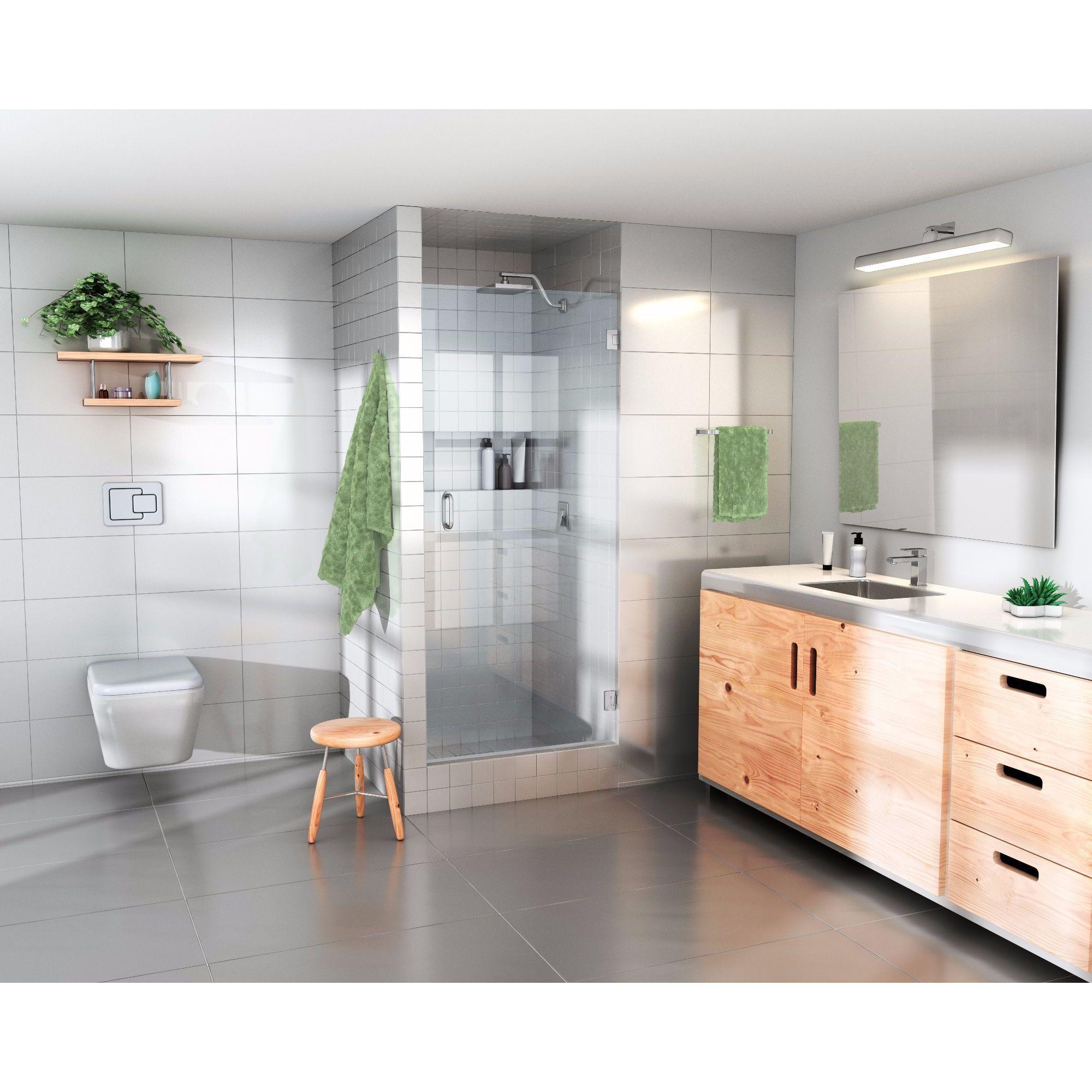 Glass Warehouse 78 Inch X 26 Inch Frameless Shower Door 78 X 26