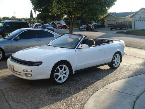 1992 Celica Convertible 1993 Toyota Gt White For Fort Worth Usa
