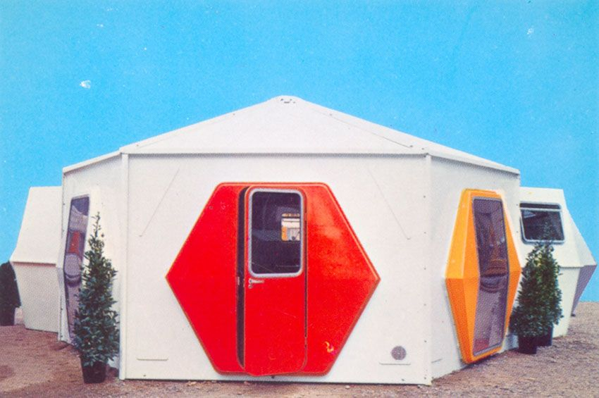 Georges candilis mobile housing pinterest for Architecture modulaire definition