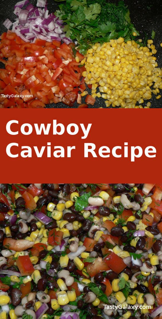 How To Make Cowboy Caviar #cowboycaviar
