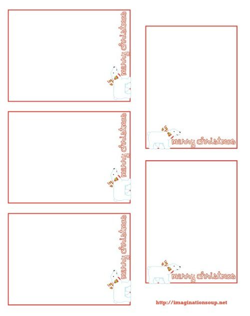 3 free printable christmas thank you notes for kids kids sheets