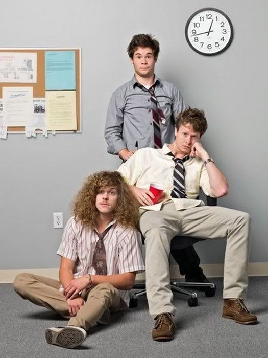Workaholics poster print
