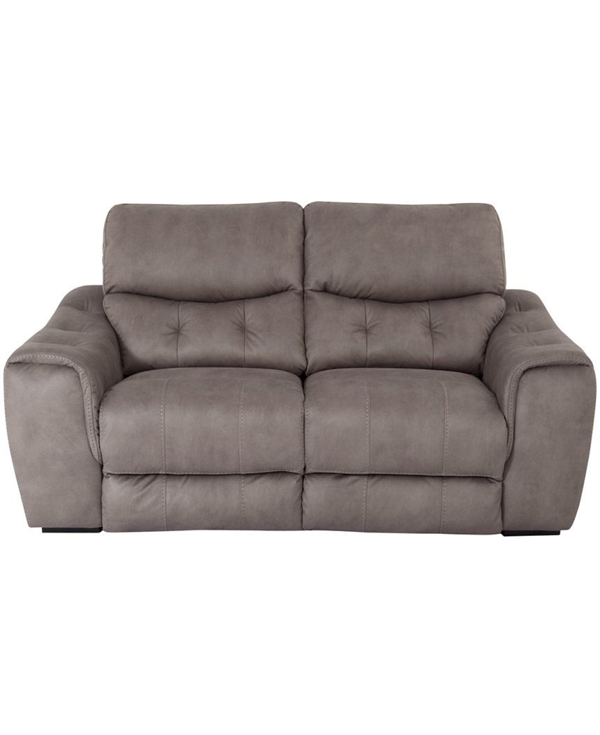 Trixie Tufted Fabric Loveseat - Couches & Sofas - Furniture - Macy's