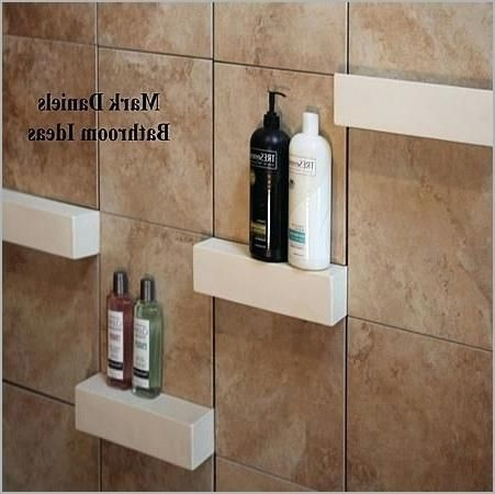 Photo of Suitable use of shower shelves