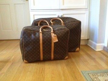 edd58d2e541d Louis Vuitton Sirius 55 Sirius 70 Soft Sided Luggage Monogram Travel Bag   1