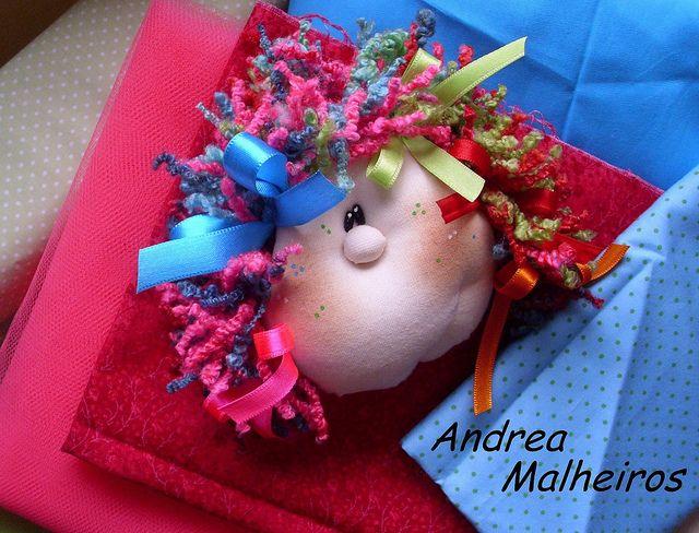 0f153d2cd Carinha da Boneca Marcela em Detalhe... by Atelier Eu Voce by Andrea  Malheiros, via Flickr