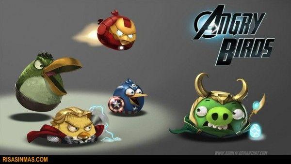 Angry Birds versión Vengadores  http://bit.ly/L30fC8