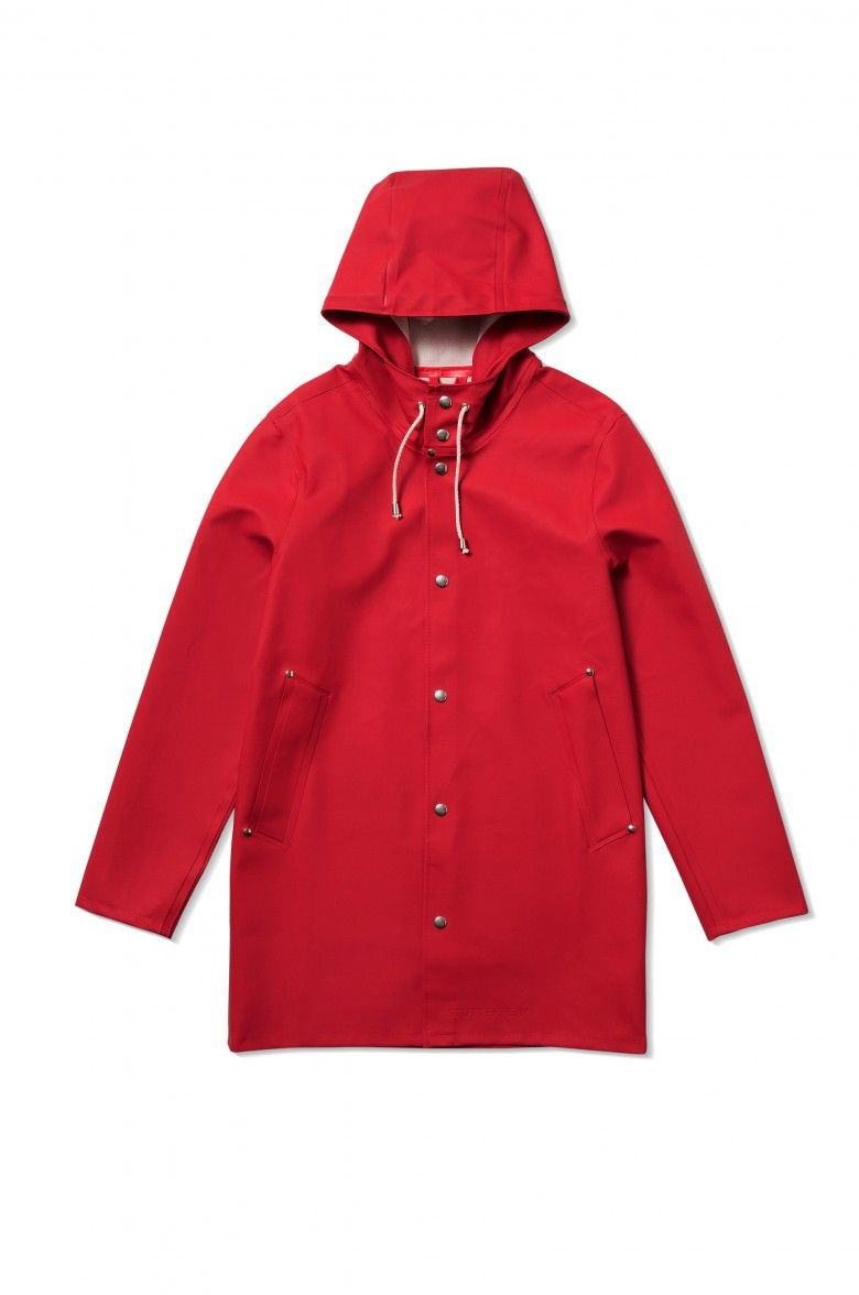Stutterheim In Stockholm RedFree The Shop Raincoat vwNn0Oym8