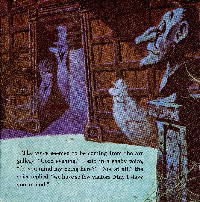 Walt Disney Presents The Haunted Mansion 1970 Pg 5 Halloween