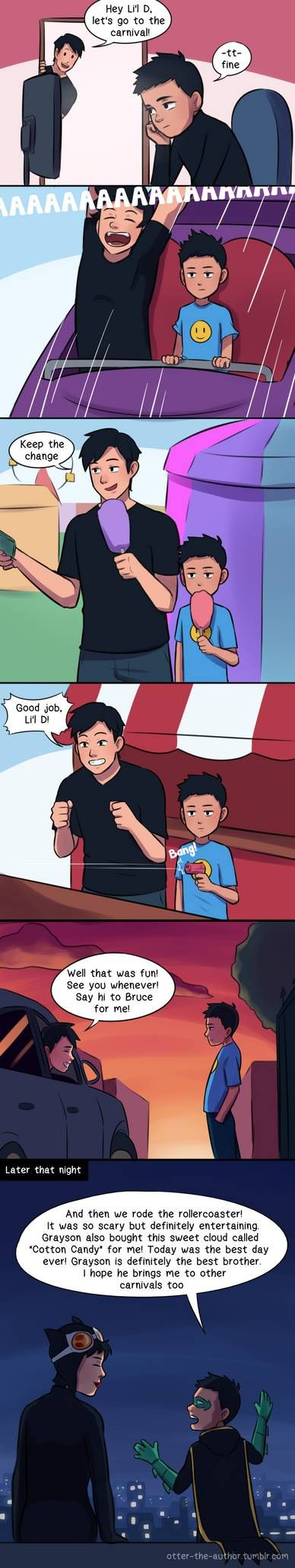 Damian is a Professional by OtterTheAuthor on DeviantArt