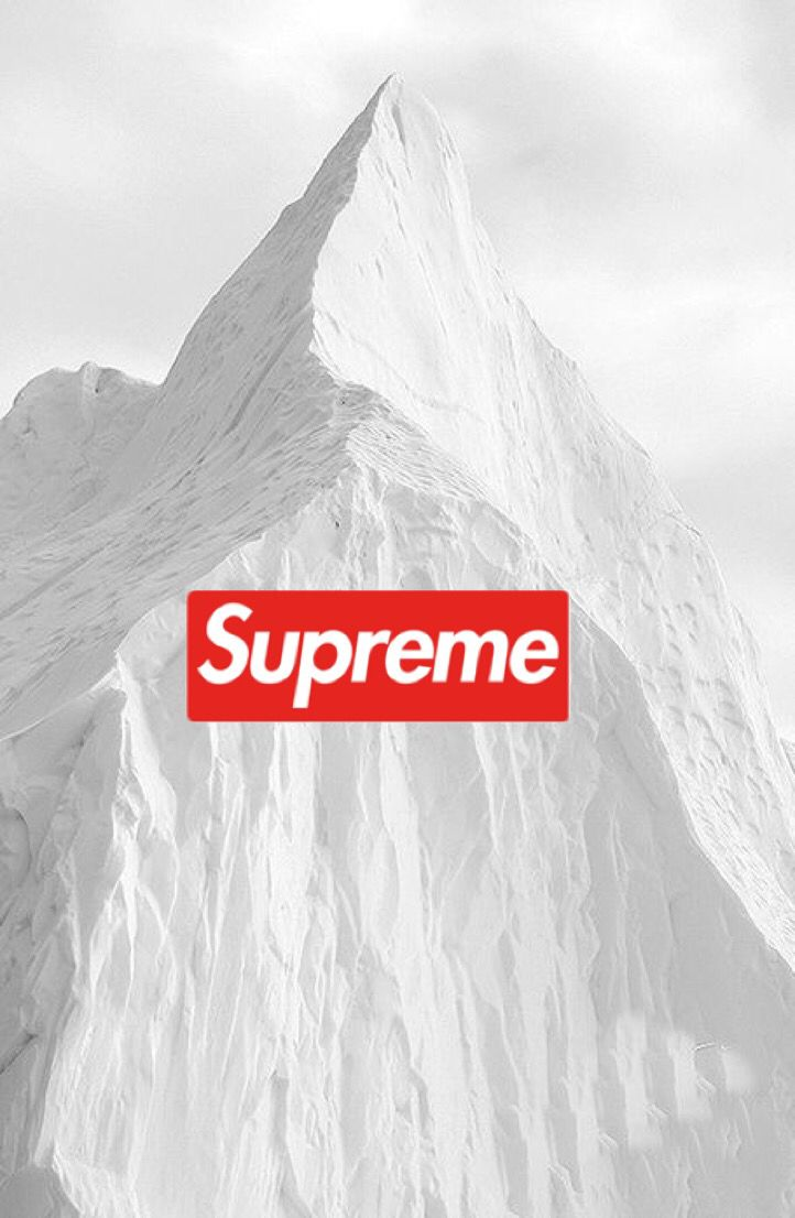 Supreme Fond D Ecran Iphone Wallpaper Tendance