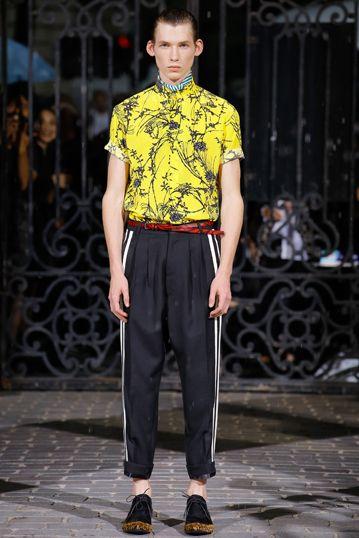 8f1d47cfee62 ハイダー アッカーマン──2017春夏パリ・メンズコレクション メンズコレクション(ファッションショー) GQ JAPAN