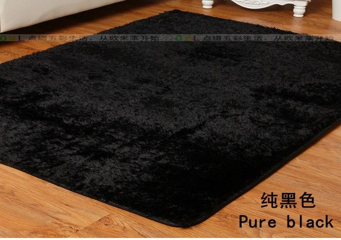 Hot Selling 120 160cm Black Carpet Super Soft 1 Piece Modern Rugs For Living Room Bedroom Carpet Free Shipping Rugs In Living Room Black Carpet Rugs On Carpet