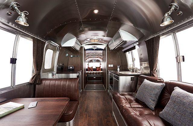 Luxury airstreams american retro caravans blog - Airstream replacement interior panels ...
