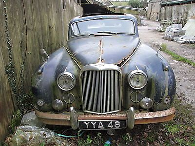 Jaguar Mark 8, With Documents And Heritage Certificate, Restoration Project   ENDS 2014-02-12T10:38:23.000Z - http://classiccarsunder1000.com/archives/34749