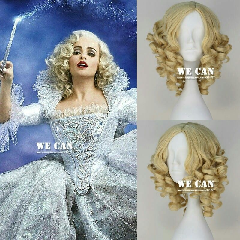 Fairy godmother wig for Fan expo and halloween.