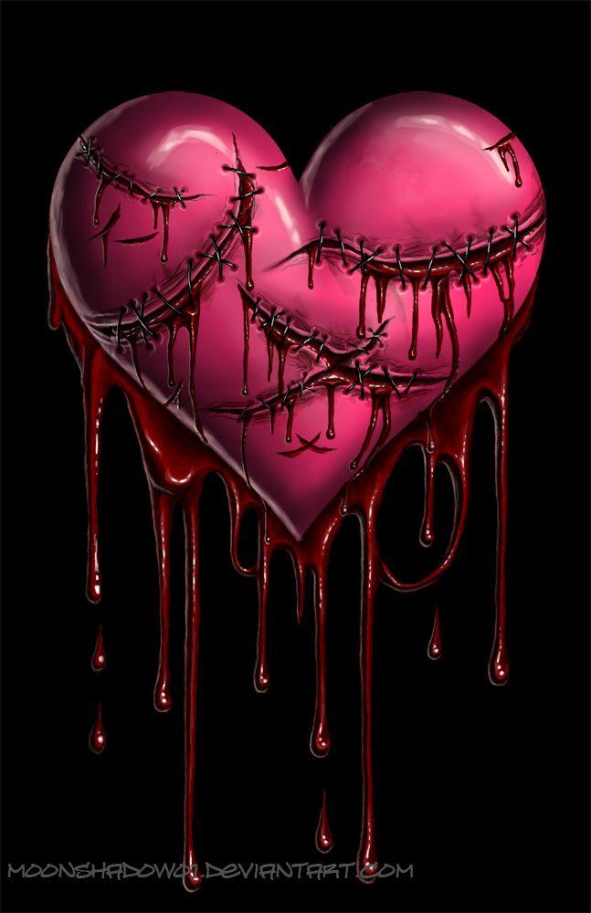 Mending Heart Broken Heart Art Broken Heart Wallpaper Broken Heart Tattoo Awesome black broken heart wallpaper