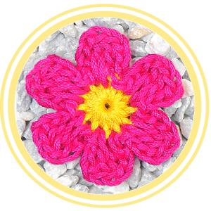 > Descripción  Bonita y fácil flor de siete pétalos a crochet. Perfecta para decorar cualquier tejido o manualidad. Por su tamaño es fácil...
