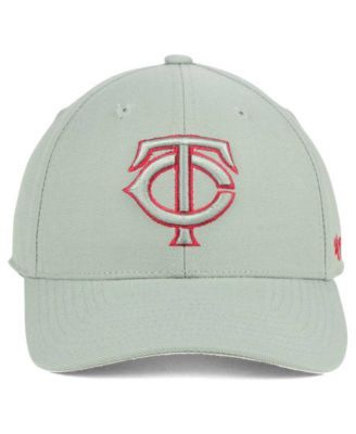 new style b8526 cdd33  47 Brand Minnesota Twins Mvp Gray Tc Pop Cap - Gray Adjustable