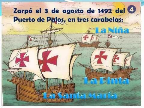 Pin De Angela Becerra En Día De La Hispanidad Historia De Cristobal Colon Cristobal Colon Para Niños Día De La Hispanidad