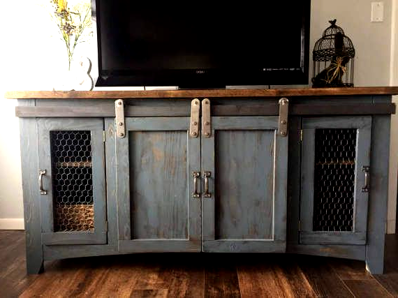 Rustic Tv Stand Media Console Wood Furniture Farmhouse Rustic Tv Stand Media Console Wood Furnitu In 2020 Rustic Tv Stand Farmhouse Style Tv Stand Rustic Tv Console