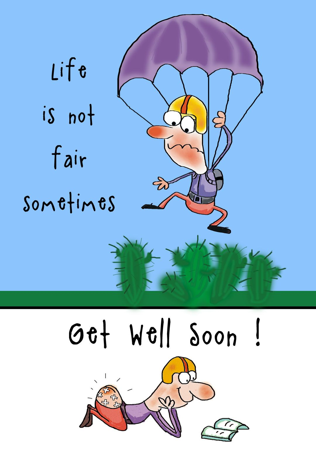 Free Printable Get Well Soon Greeting Card Just Cute Pinterest