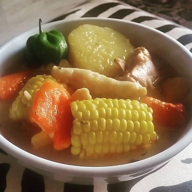 jamaican chicken pumpkin soup  jamaican pumpkin soup
