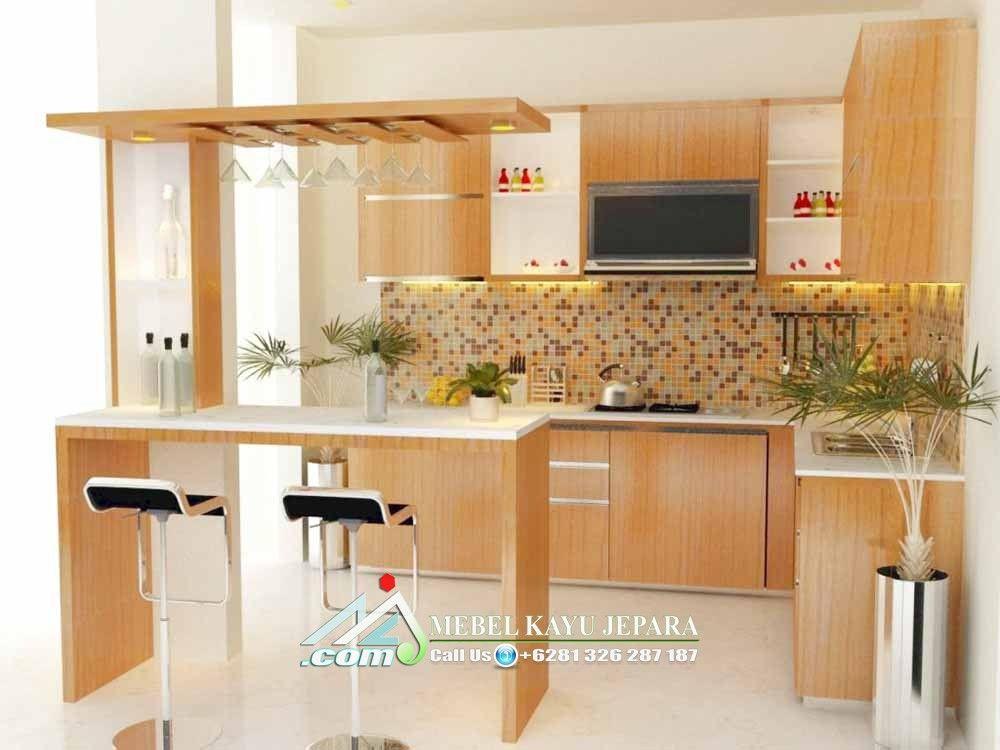Kitchen Set Hpl Di 2020 Bar Mini Dekorasi Dapur Dapur