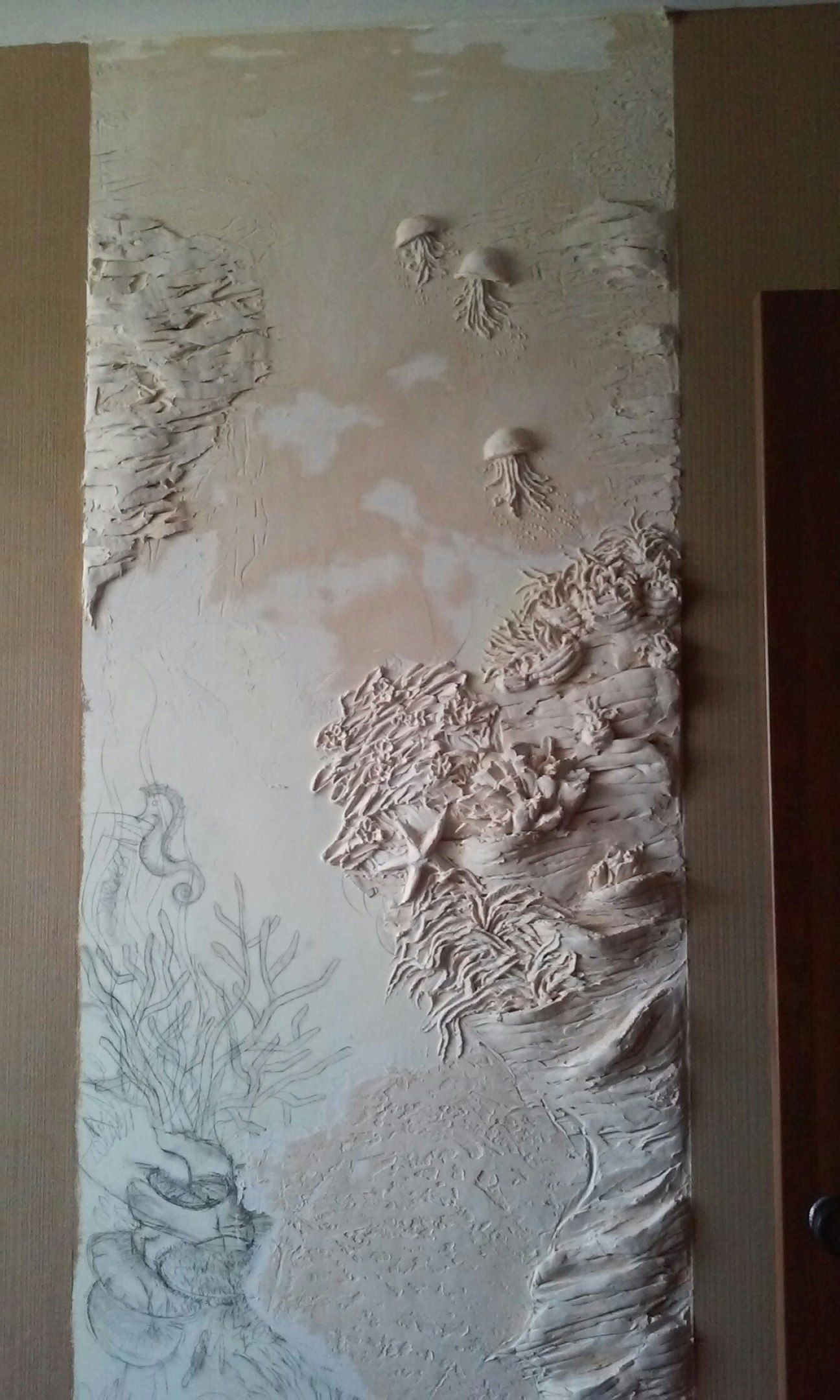 5Pvxdxu Cse (1296 2160) Wall Sculpturescement Craftsplasteringart