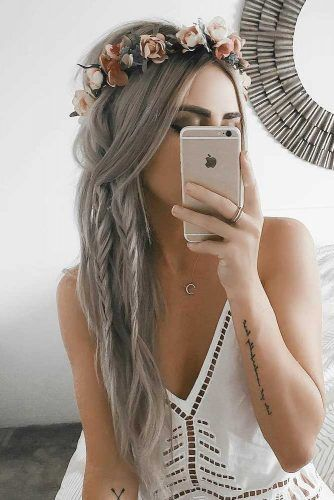 26 ELEGANT WAYS TO THE STYLE UNIT FOR LONG HAIR