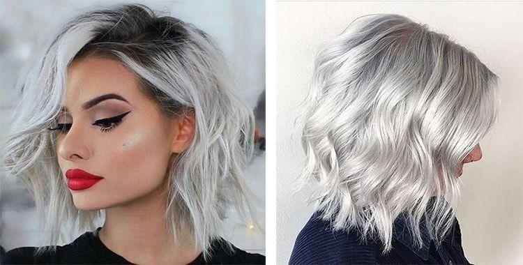 Пепельный блонд - холодный цвет волос (фото) | Пепельный ...