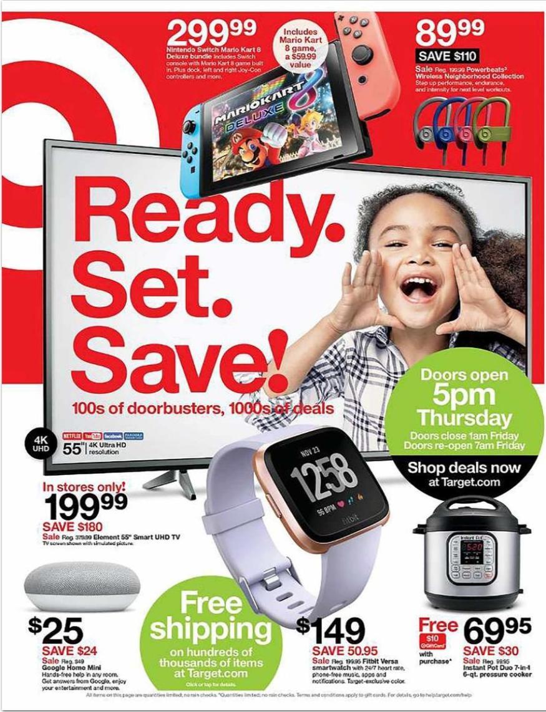 Target Black Friday Ad For 2019 Blackfriday Com Black Friday Target Black Friday Ads Black Friday