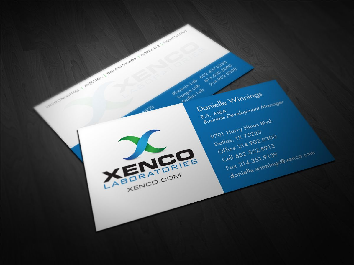 Xenco laboratories business card design by alphagraphics sugar land xenco laboratories business card design by alphagraphics sugar land reheart Image collections