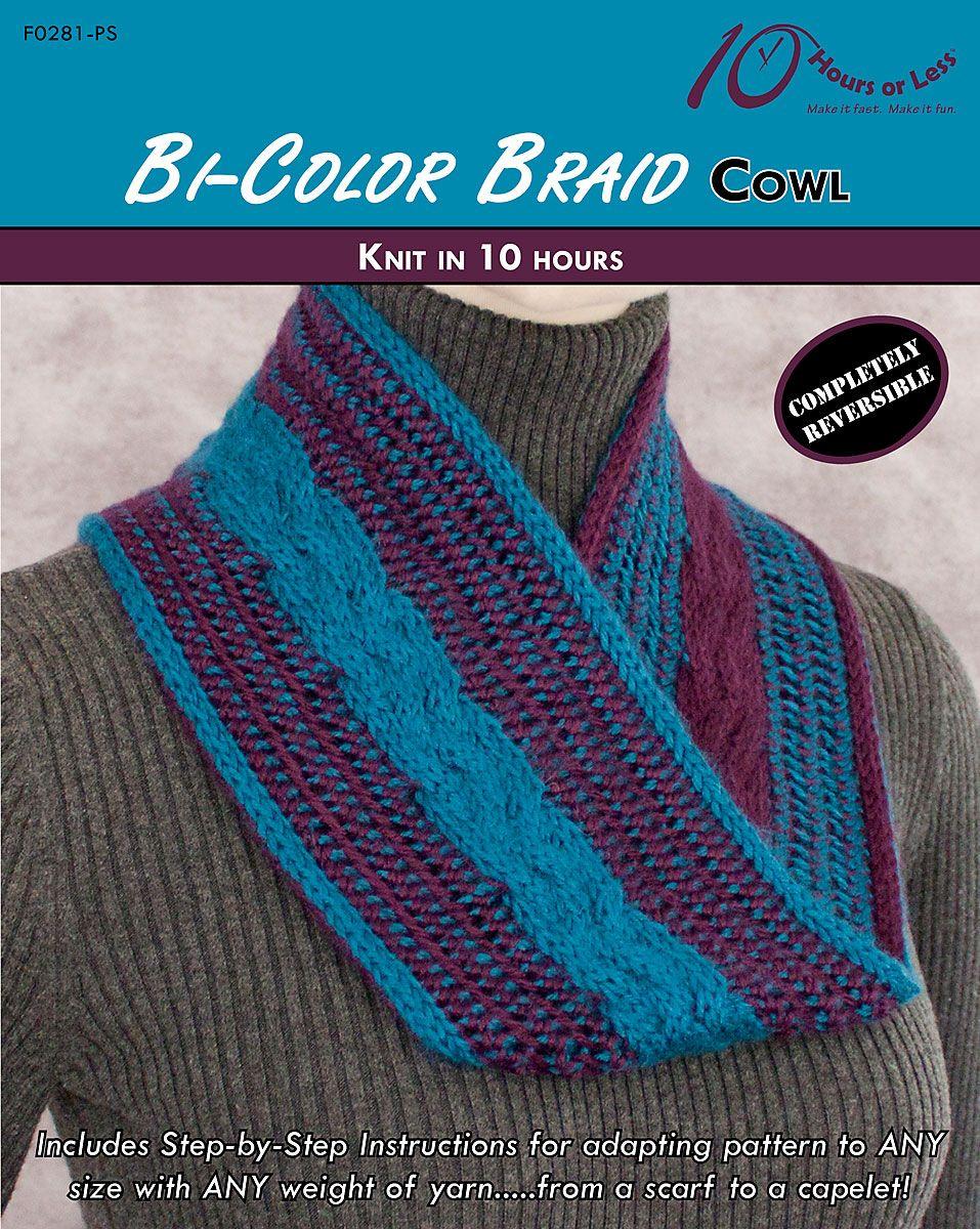 BI-COLOR BRAID Cowl