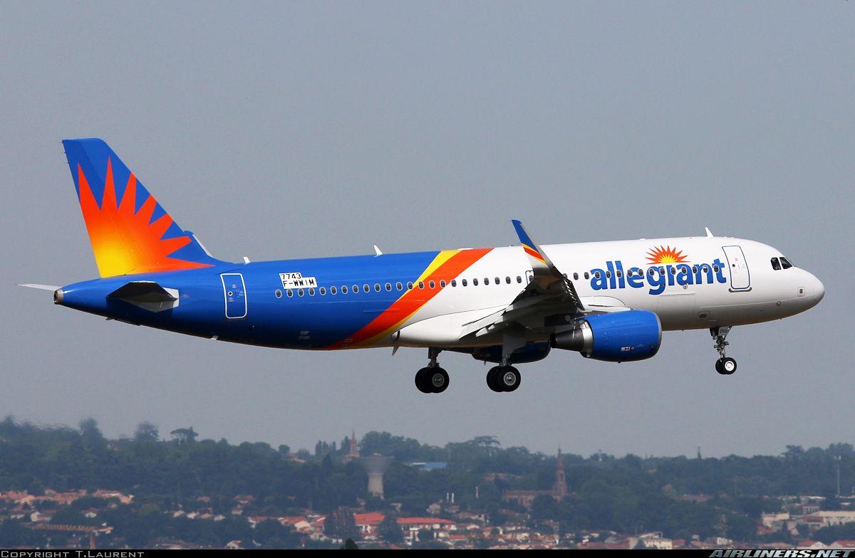 Airbus A320 214 Allegiant Air Aviation Photo 4448647