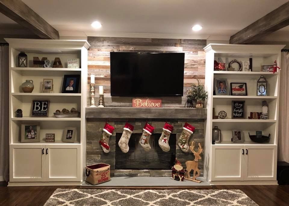 Wood Tv Wall Mount Ideas For Living Room Awesome Place Of Television Nihe And Chic Designs Modern Decorating Modern Tv Wall Wood Pallet Wall Wall Mounted Tv