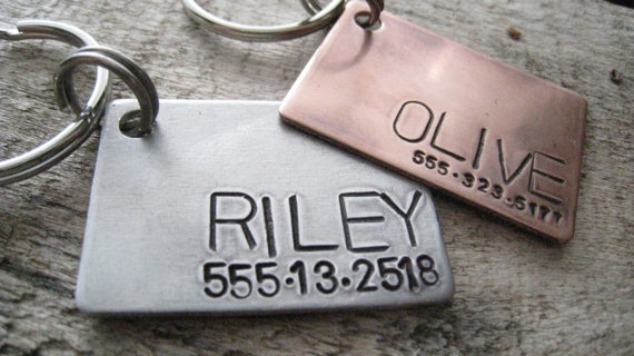 custom pet id tag personalized pet dog tag dog collar tag