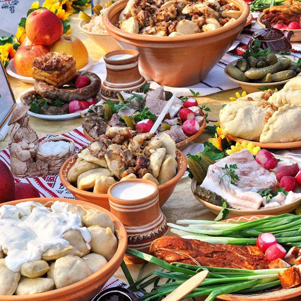 украинский стол с едой картинки знания физики педагогики