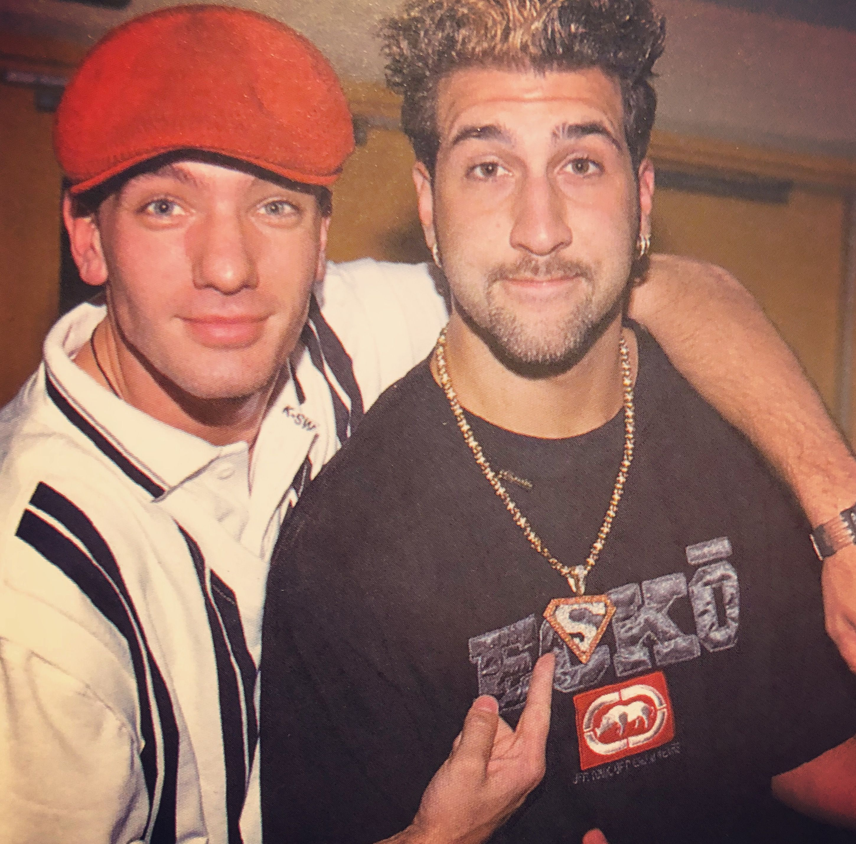 Pin By Retro Nsync On Team Jc With Images Joey Fatone Nsync