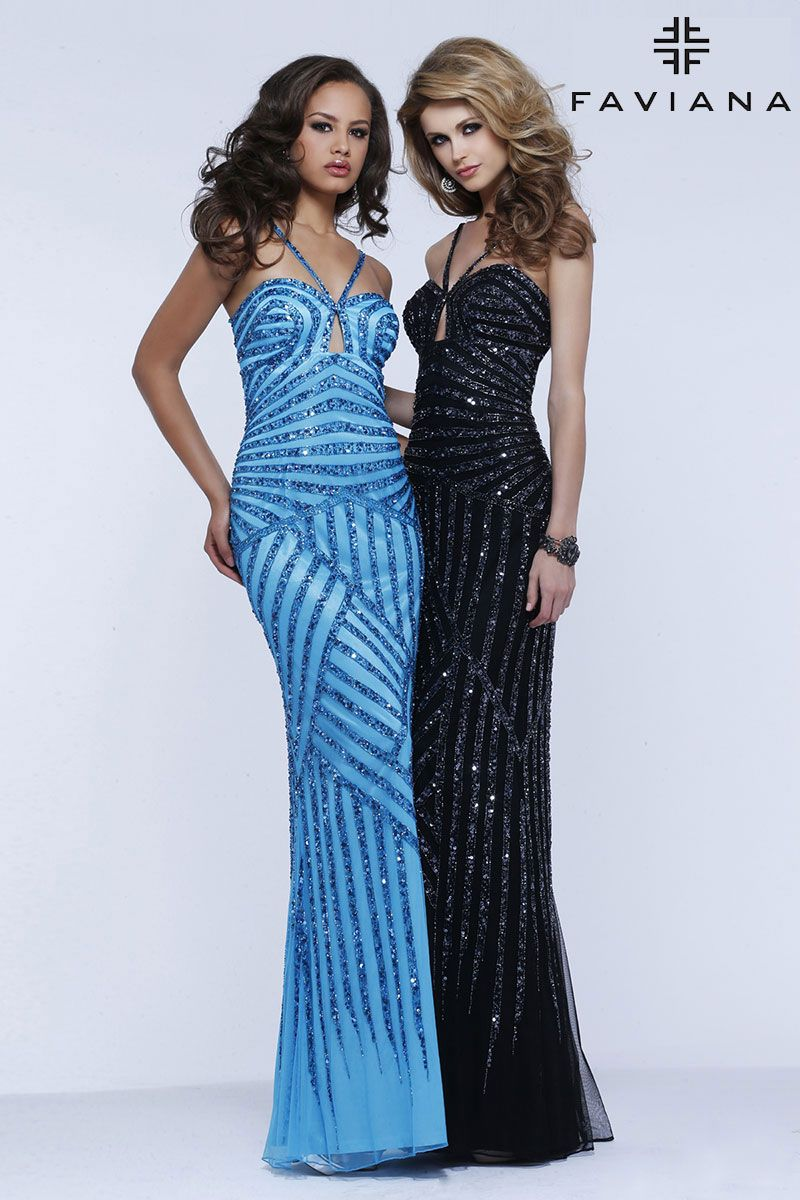 Sleek in black or bright in blue in Style S7372? Which would you ...