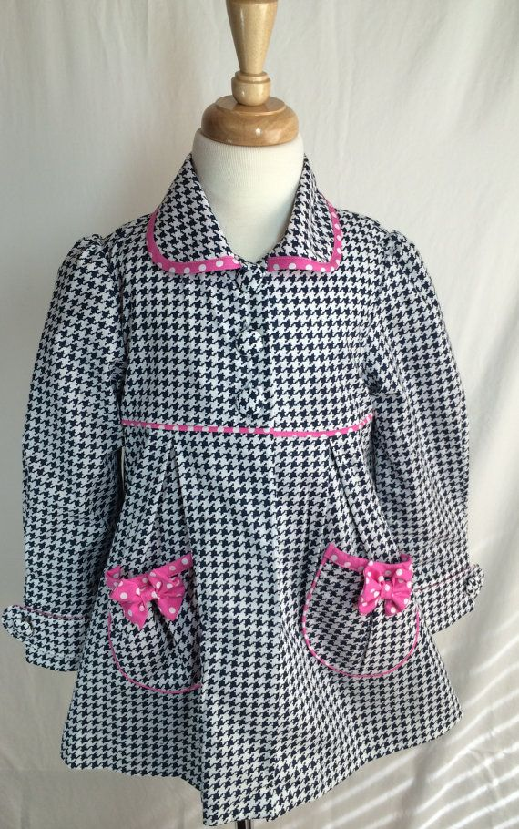 Classic girl coat by SewCuteMami on Etsy