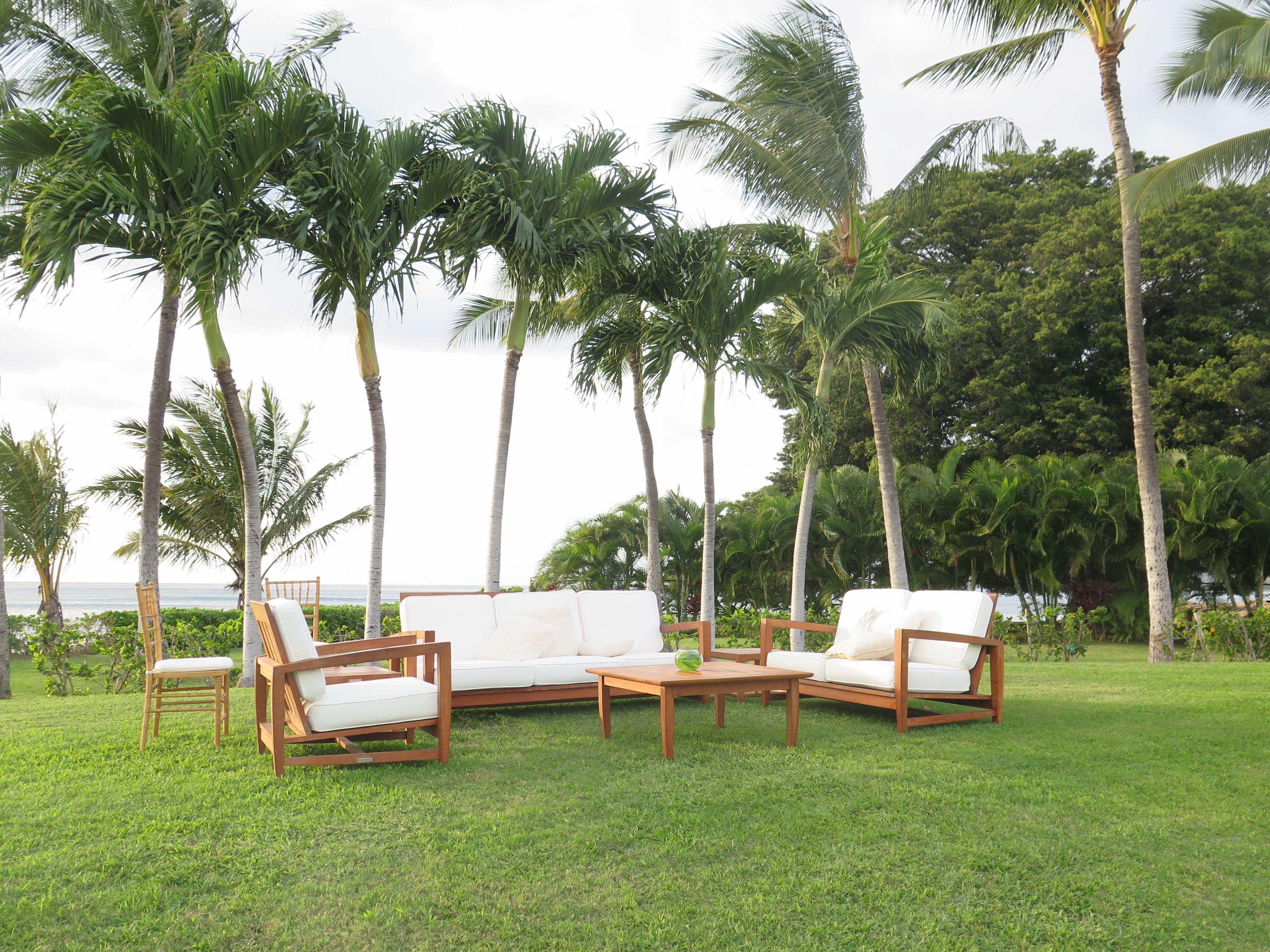 Our couple's beautiful wedding lounge at Paradise Cove. Contact Hawaii Weddings by Tori Rogers www.hawaiianweddings.net
