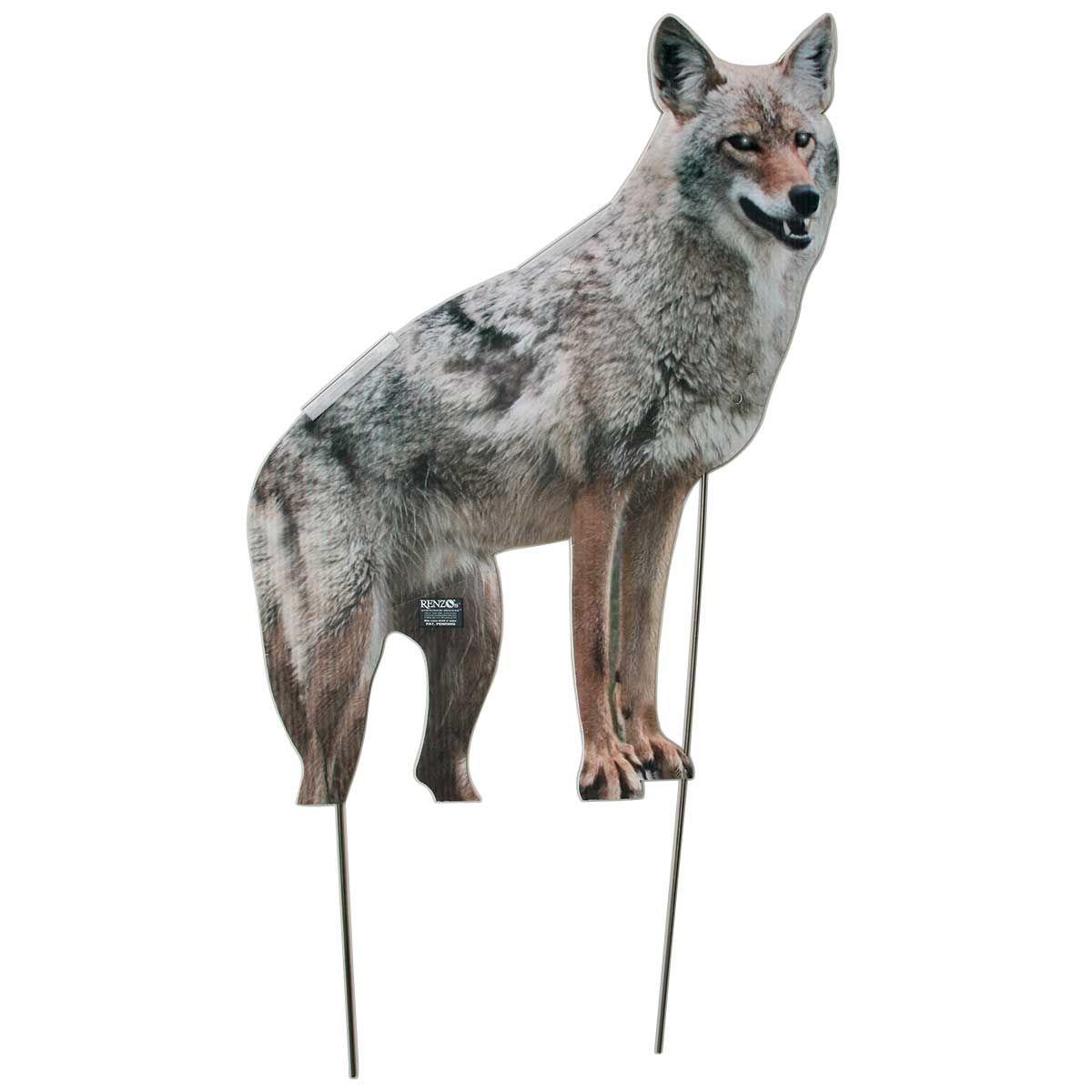 Coyote decoy twodimensional goose repellent coyote