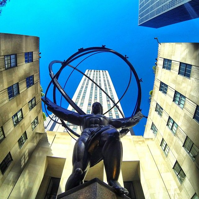 Atlas stands strong at #RockCenter