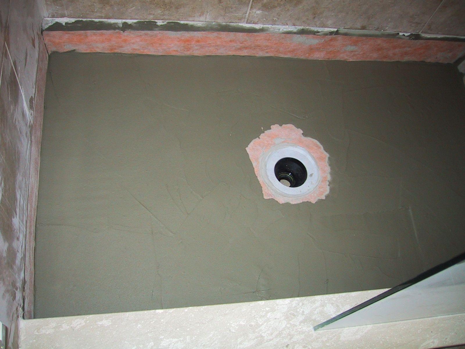 Tile Shower Floor Pan Kit