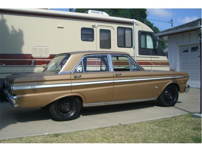 This Is Just Like My First Car 1965 Ford Falcon Futura I Worked