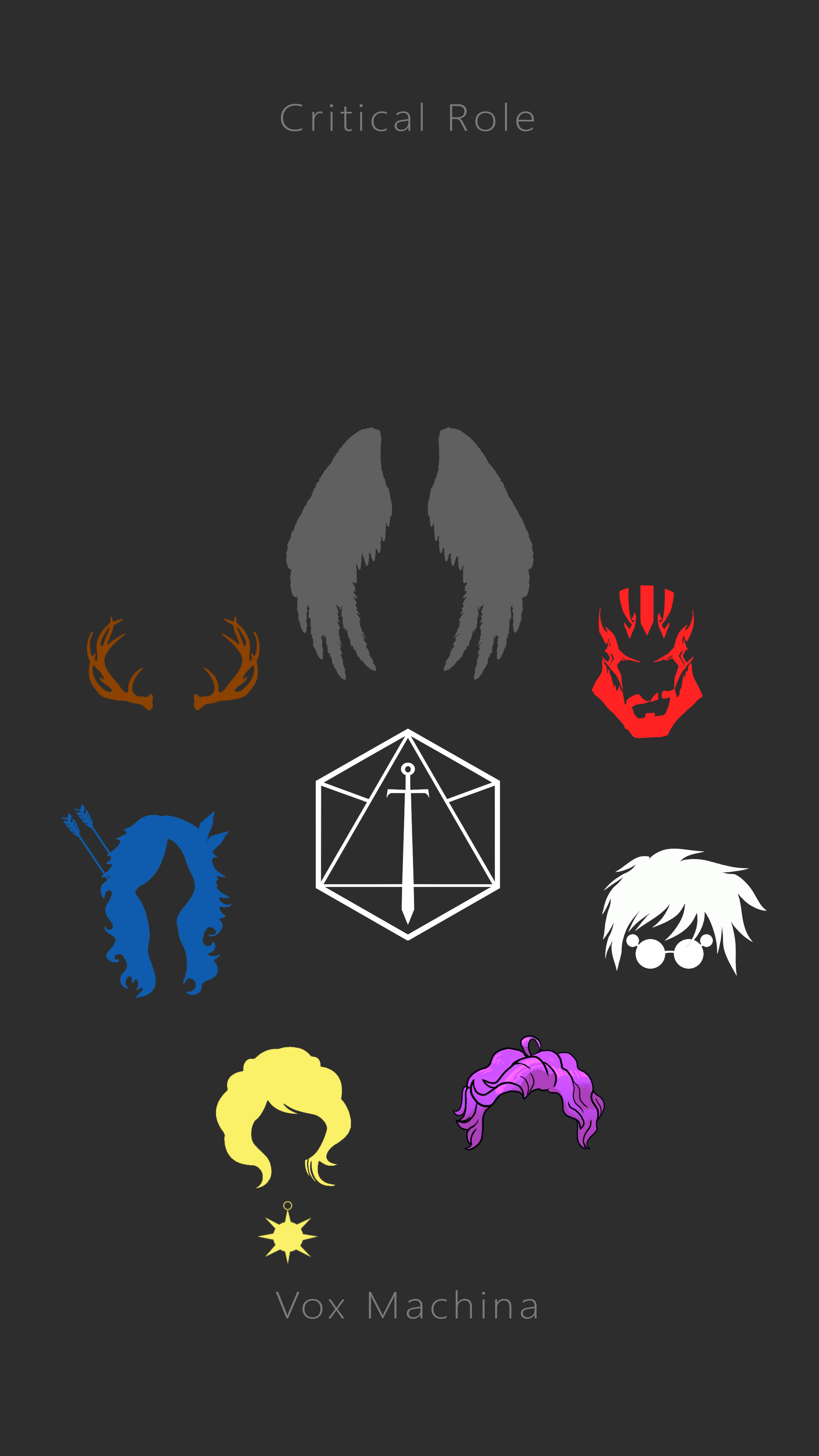 No Spoilers Vox Machina Iphone Wallpaper Critical Role