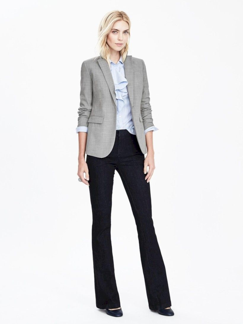 Suitable Pant For Black Blazer