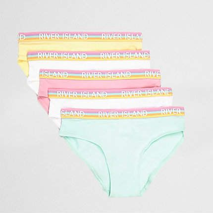 489fb7182456c Girls pink pastel briefs multipack in 2019 | Products | Pink girl ...