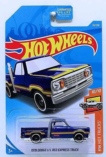Diecast 1:64 Hot Wheels 1978 Dodge LI/'L Red Express Pickup Truck Lot 2